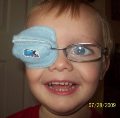 the best eye patch for kids worn by Adam