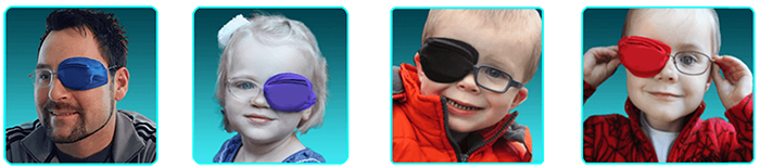 Framehuggers Eye patches For Glasses for kids and adults
