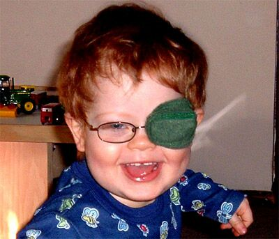the best eye patch for kids worn by