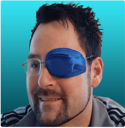 Framehuggers Adult eye patches for glasses