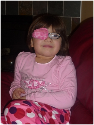 the best eye patch for kids worn by Anna