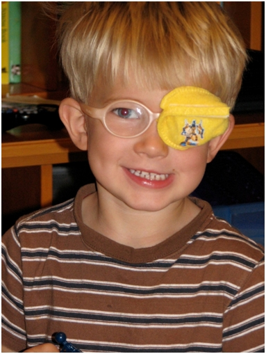 the best eye patch for kids worn by buckman