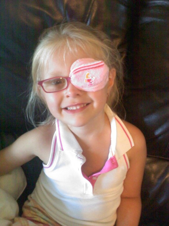 the best eye patch for kids worn by Clara