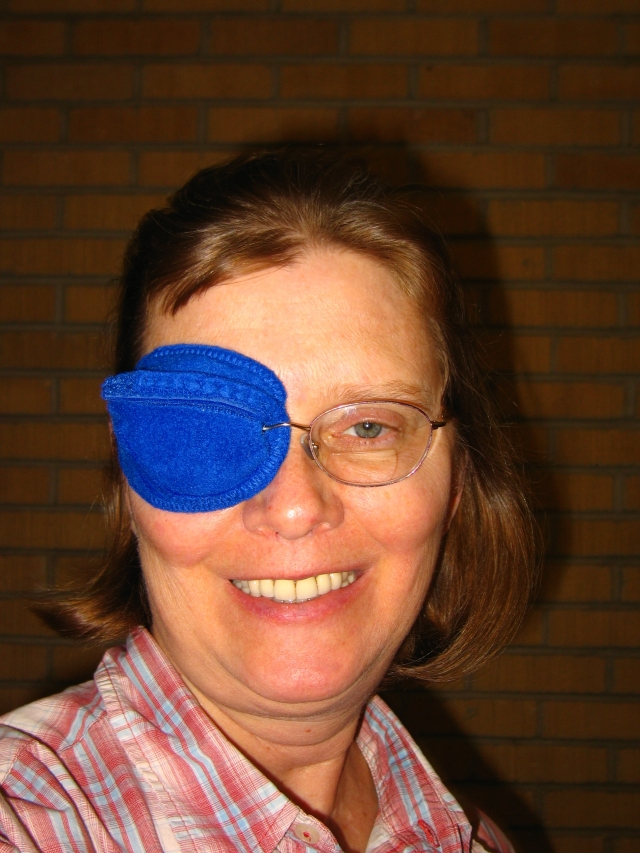 the best eye patch for kids worn by Louise