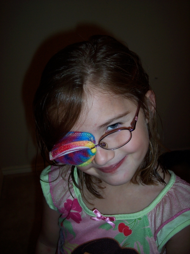 the best eye patch for kids worn by Margo