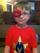 eye patches for kids worn by Mason