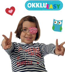 Okklueasy eye patches for glasses by Framehuggers