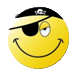 Pirate Smiley